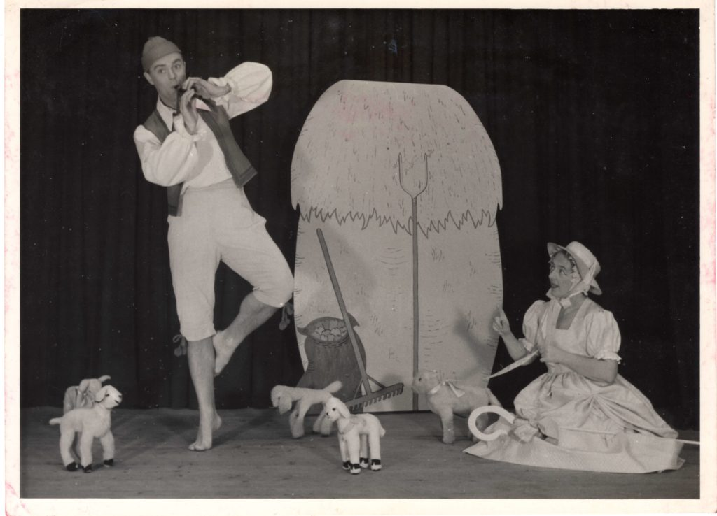 Anthony Newman and Bertha Waddell performing Little Bo Peep in around 1964.